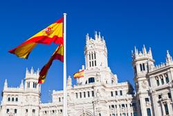 Клипарт depositphotos.com, испания, флаг испании, мадрид, архитектура испании