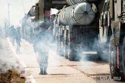 Учения зенитно-ракетной бригады. Республика Хакасия, Абакан , военная техника, зрк, зенитно-ракетный комплекс, ЗРК с-400