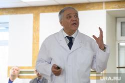 Николай Цуканов в Уральском институте кардиологии. Екатеринбург, габинский ян
