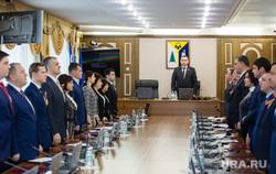 Заседание Думы города 6 созыва. Нижневартовск, депутаты стоят