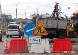 Ремонт дорог в рамках национального проекта. Курган, дорожные работы, ремонт дороги, дорожная техника