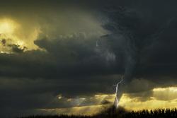 Клипарт depositphotos.com, молния, торнадо, ураган, природные катаклизмы, грозы, стихийные бедствия