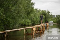 Наводнение. Нижневартовск, наводнение, мостки, потоп