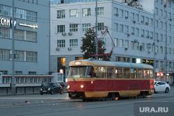Петков Пламен попал в аварию у Главпочтамта. Екатеринбург, проспект ленина, трамвай