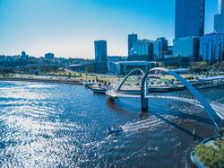 Клипарт unsplash. Josh Spires, мост, отдых, море, туризм, пляж, катер, отпуск, океан, австралия, путешествие, тур