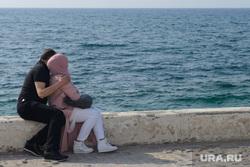 Виды Лимассола, Гирне, Куриона и Продромоса. ТРСК и Республика Кипр, парочка, мусульмане, романтика, средиземное море