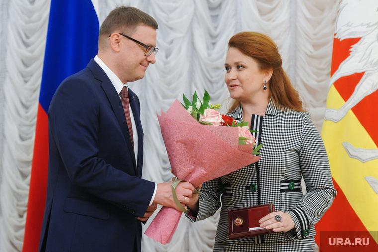 Вручение государственных наград Алексеем Текслером. Челябинск