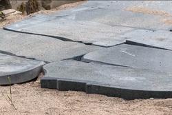 Клипарт. Дорога из надгробий, надгробный камень, каменная плита