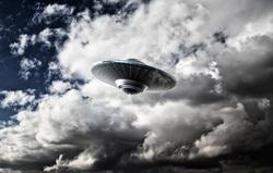 Клипарт depositphotos.com, нло, инопланетяне, космическая тарелка
