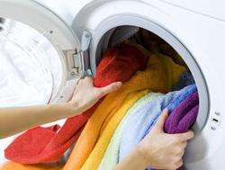 Клипарт depositphotos.com, стирка, стиральная машина, загрузка белья