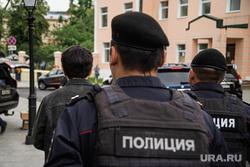 День России в Москве. Москва, полиция