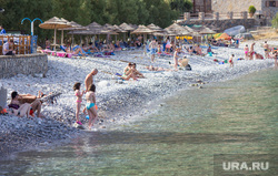 Клипарт. Греция. Крит, море, пляж, отдых, отпуск