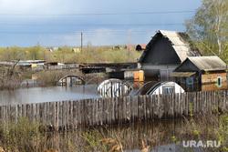 Паводок Курган, паводок2016, дача затоплена