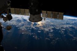 Клипарт сток pickupimage. spacePD. Екатеринбург, космос, спутник, планета земля, космическая станция, орбитальная станция