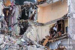 Демонтаж 7-го подъезда дома № 164 на проспекте Карла Маркса. Часть 3. Магнитогорск, руины, последствия взрыва