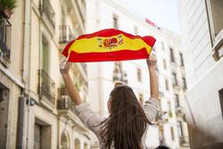 Клипарт depositphotos.com, барселона, флаг испании, достопримечательности испании