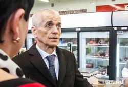Геннадий Онищенко на рынке Михайловский, онищенко геннадий