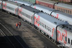 Клипарт. Москва, поезд, железнодорожный состав, железная дорога, хождение по путям, электропоезд, ржд, железнодорожник