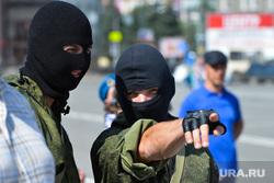 День ВДВ в Челябинске, спецназ, маски-шоу, военный, росгвардия