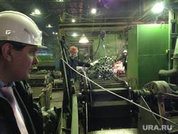 Зауральский кузнечно-литейный завод. Курган, кузнечный завод, цех