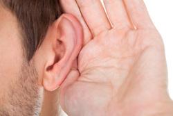 Клипарт depositphotos.com , ухо, шпион, прослушка, подслушивать, плохо слышать