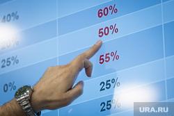 Презентация исследования Евгения Минченко, ВЦИОМ. Москва, график, таблица, проценты