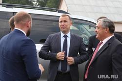 Визит врио губернатора Шумкова Вадима в Альменевский район.  Курган