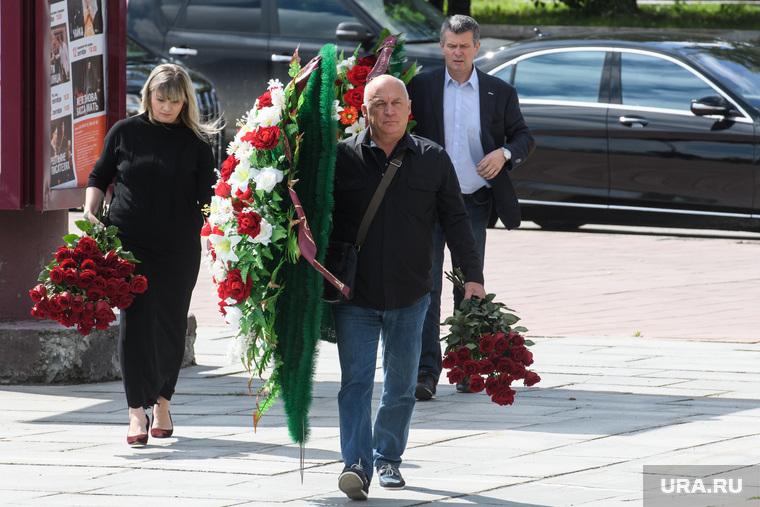 Прощание с Анатолием Суховым в Театре Драмы. Екатеринбург