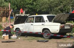 Взрыв машины в Магнитогорске, Магнитогорск взрыв, полиция Магнитогорск, взрыв машина