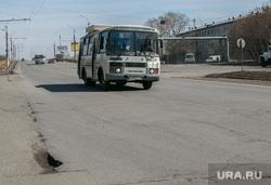 Рейд инспекции ОНФ по городским дорогам. Курган, автобус, проспект конституции, паз
