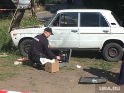 Взрыв машины в Магнитогорске, Магнитогорск взрыв, взрыв машины, полиция Магнитогорск