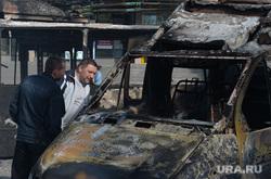Последствия АТО и украинские блокпосты в Краматорске. Украина, блокпост, сгоревшие машины, украинские войска, сожженные автомобили, газель, военные, гостиница краматорск