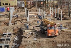 Губернатор Решетников с  проверкой в новом зоопарке. Пермь, рабочие, стройка, новый зоопарк пермь