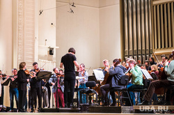 Перед концертом дирижера Теодора Курентзиса в филармонии. Екатеринбург, оркестр, курентзис теодор
