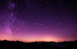 Клипарт. pixabay.com, метеорит, небо, комета, звезды