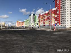 Новая дорога в Югре сделанная по новым стандартам. Нижневартовск, новострой, асфальт, дорога