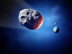 Клипарт depositphotos.com, комета, земля, астрономия, галактика, вселенная, астероид