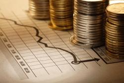 Клипарт depositphotos.com , монеты, финансы, биржевые графики, фондовая биржа, инвестиции, фондовый рынок, деньги, экономика