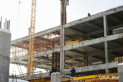 Рабочий визит Виталия Мутко на строительство объектов саммитов ШОС и БРИКС. Челябинск, стройка, таганай2020