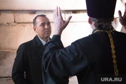 Визит врио губернатора Курганской области Шумкова Вадима в п. Варгаши , шумков вадим, священнослужитель