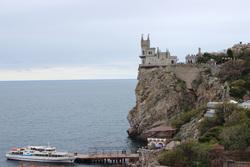 Клипарт pixabay. Viktor Levit , замок, море, крым, курорт, ялта, скалы, отдых, туризм, лодка, мыс