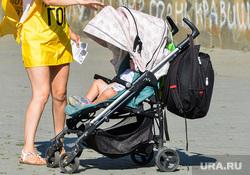 Пикет против строительства Томинского ГОКа Челябинске, ребенок, коляска, стоп гок