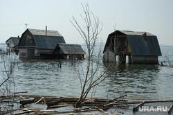 Паводок. Челябинская область, потоп, паводок, наводнение, деревянные дома, озеро синеглазово