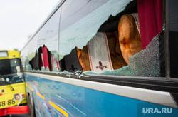ДТП на Карла Либкнехта - Малышева с участием троллейбуса и междугороднего автобуса. Екатеринбург, дтп, общественный транспорт, авария