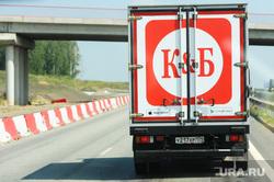 Автомобиль алкомаркета Красное Белое. Челябинская область, трасса м-5, грузовик, м5, красное белое, кб, алкомаркет красное белое