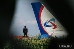 Самолет «Уральские авиалинии», совершивший аварийную посадку на кукурузном поле. Московская область, самолет, уральские авиалинии, airbus А321, самолет, аварийная посадка, аэробус а321, эйрбас