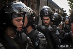 Разгон полицией несанкционированной акции оппозиции