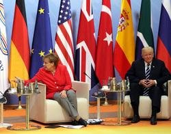 Путин G20, Трамп, Макрон, Меркель Эрдоган, флаги государств, меркель ангела, трамп дональд