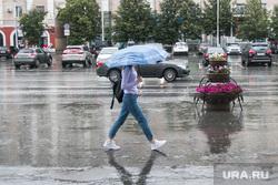 Клипарт, разное. Курганская область, зонтик, улица, дождь