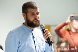 Пресс-конференция, посвященная восстановлению работы художника Покраса Лампаса. Екатеринбург, алиев сергей